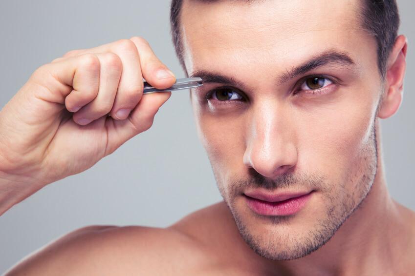 trimme øjenbryn mænd