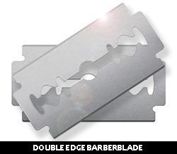 Double Edge Barberblade