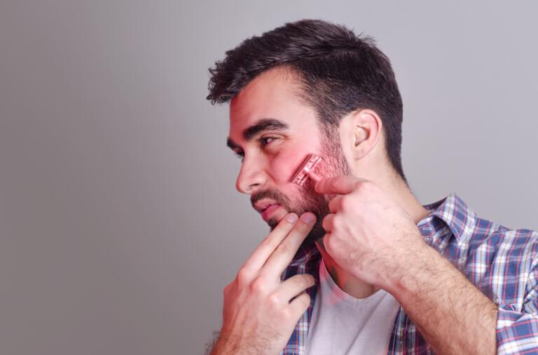 hvordan gror man skæg