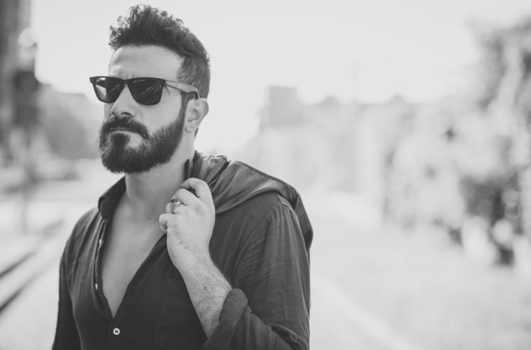 Mand-med-skæg