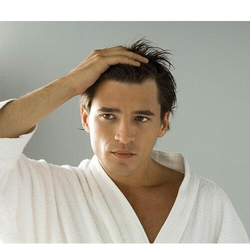 hårprodukter til mænd med langt hår