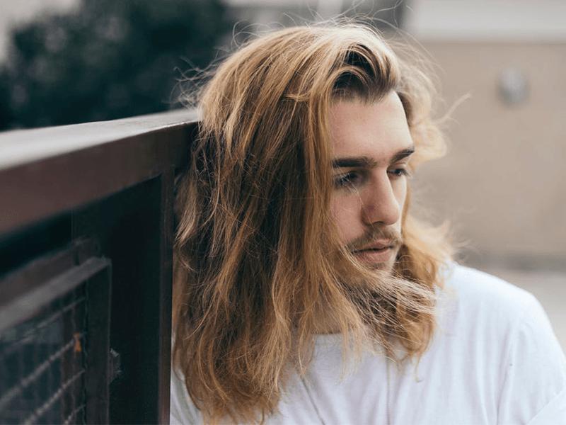 langt hår mænd hvordan